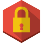 lock-icon hexagon